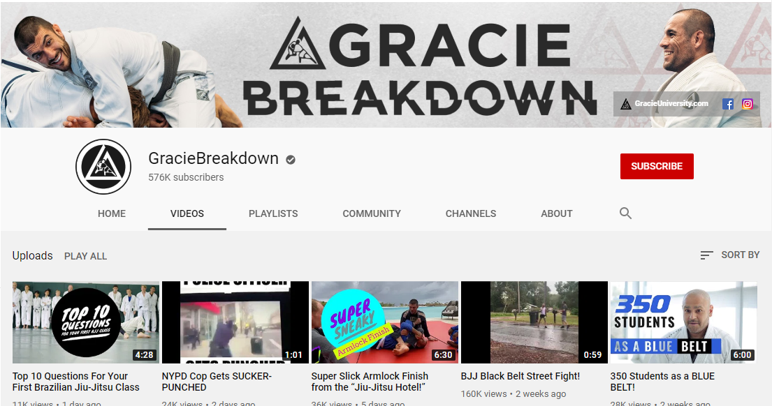 GracieBreakdown