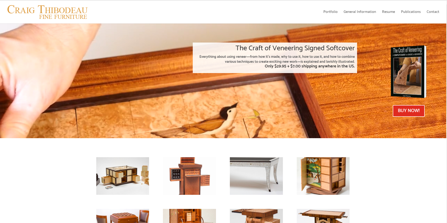 Craig Thibodeau Maker of handmade furniture, marquetry and puzzle/mechanical furniture.