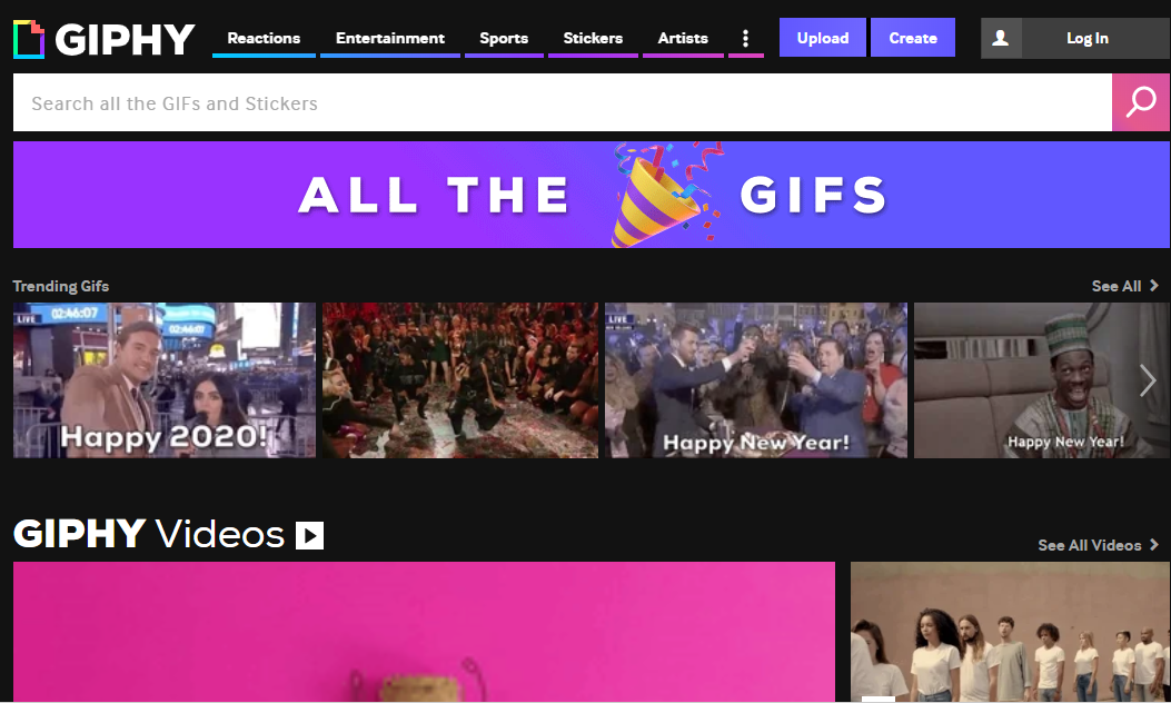 GIPHY is your top source for the best & newest GIFs & Animated Stickers online. Find everything from funny GIFs, reaction GIFs, unique GIFs and more.